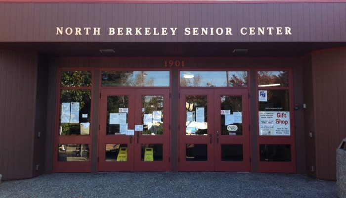 North Berkeley Senior Center, 1901 Hearst Ave, Berkeley, CA 94709